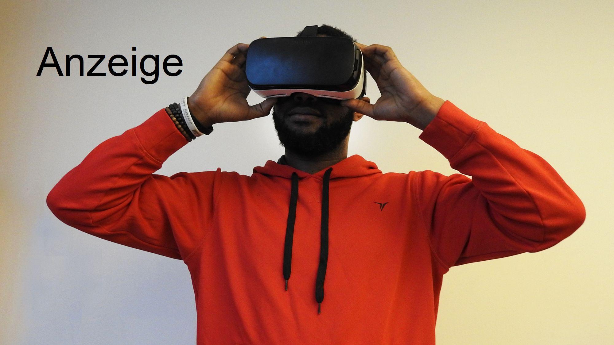 Mann mit Virtual-Reality-Brille - Foto: pxhere
