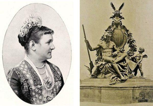 Königin Carola und der Flussgott