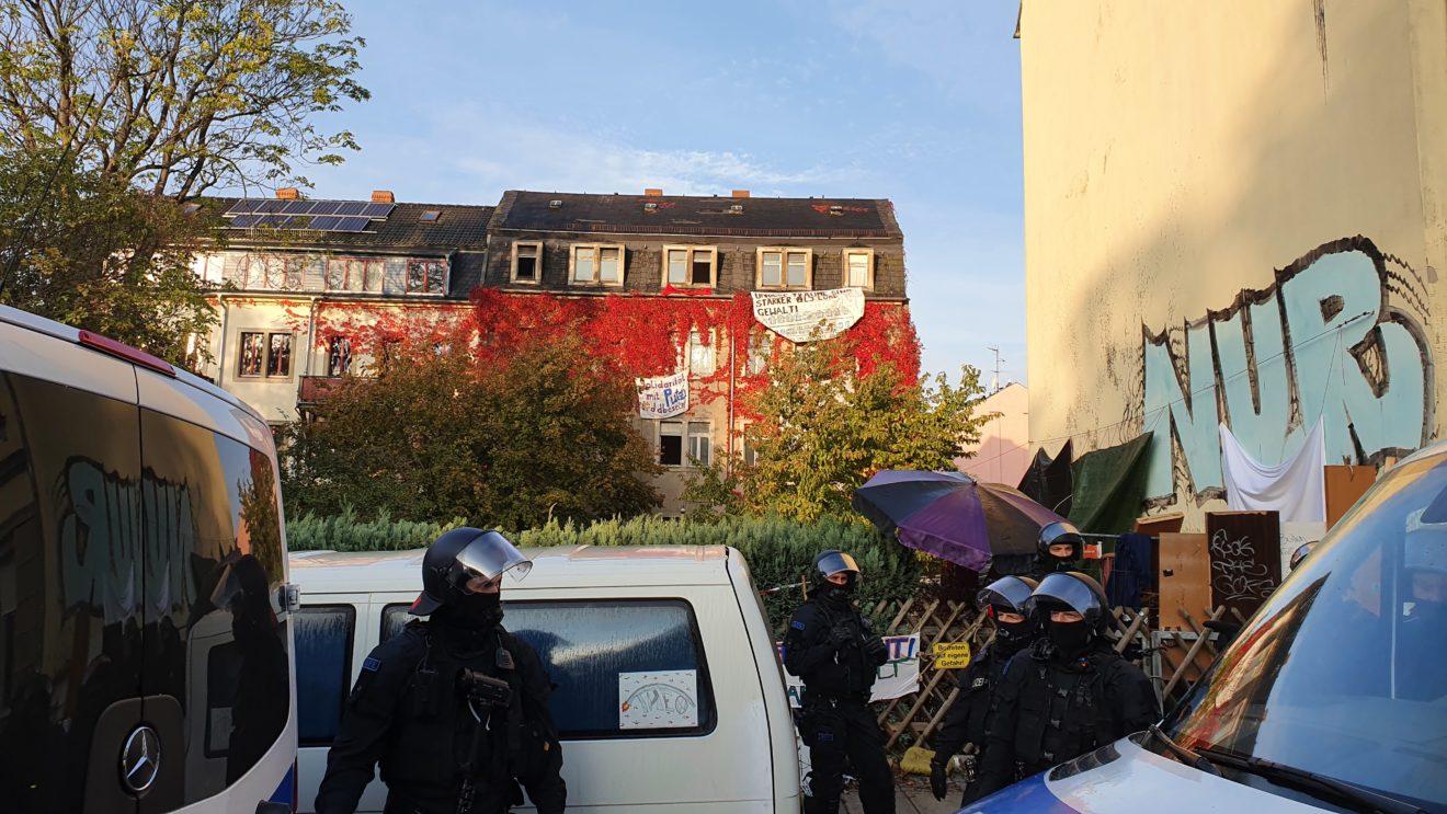 Räumung an der Schanzenstraße