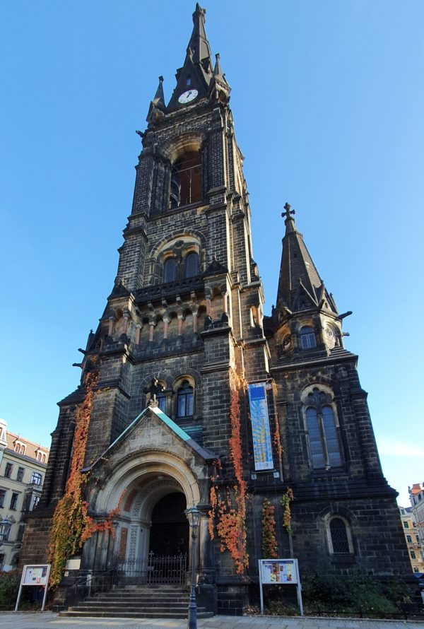 Kein Martinsumzug am Martinstag von der Martin-Luther-Kirche