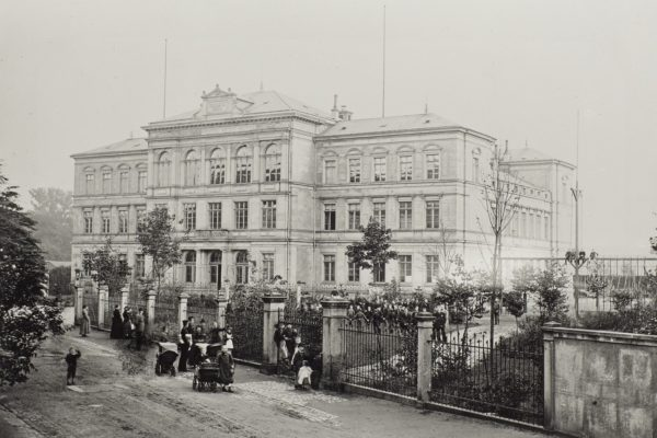 Königliches Gymnasium Dresden-Neustadt um 1898