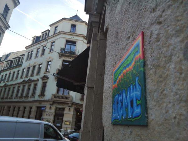 Mit Blick in die Martin-Luther-Straße.