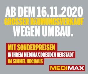 Großer Räumungsverkauf im Medimax