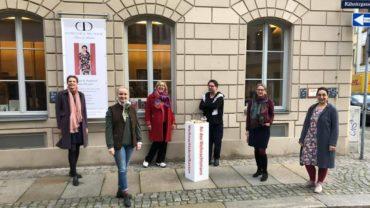 Sie haben den Weihnachtsbriefkasten organisiert: Dorothea Michalk, Franziska Rüpprich, Katrin Leliveld, Heiko Liepack-Arlt, Claudia Liess, Magret Schneider-Lange (v.l.)
