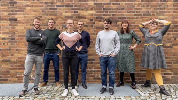 Zum undsonstso-Team gehören Felix, David, Jule, Martin, Marco, Frieda und Caro. Foto: Wir gestalten Dresden