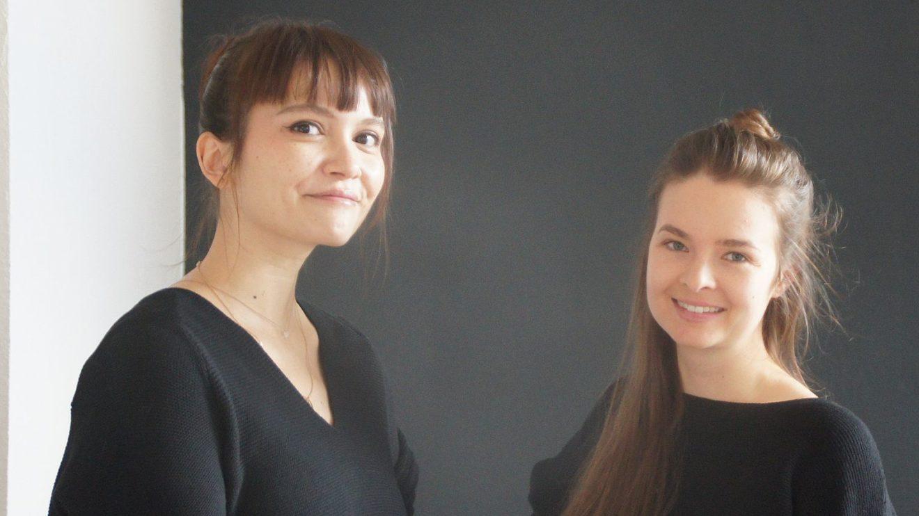 Josephine Obert und Lisa Winkler eröffnen das Mjuuk auf der Böhmischen Straße- Foto: Philine