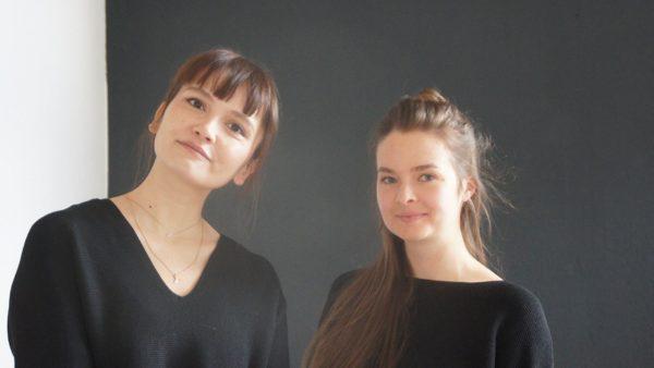 Josephine und Lisa: ein eingespieltes, kreatives Team für das Mjuuk. Foto: Philine