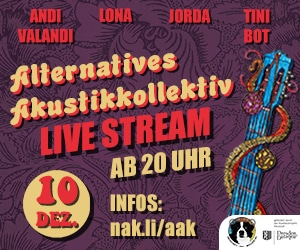 Alternatives Akustikkollektiv am 10. Dezember