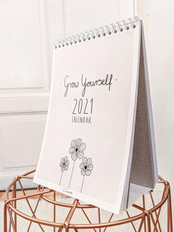 Grow Yourself 2021 Calendar