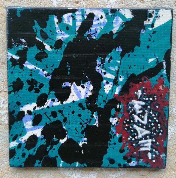 Action Painting mit Abspann