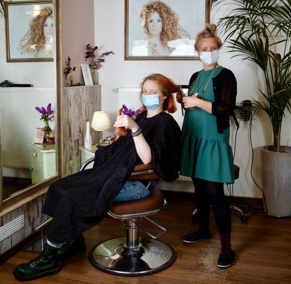 Friseurin auf der Hechtstraße: Nadine Kaiser