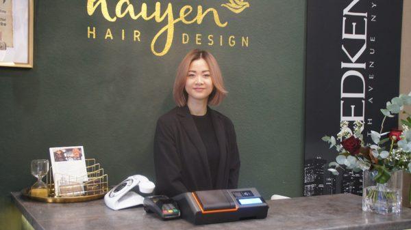 """Thi Hai Yen Cu hat das ehemalige """"Don't touch my hair"""" in einen neuen Salon verwandelt. Foto: Philine"""