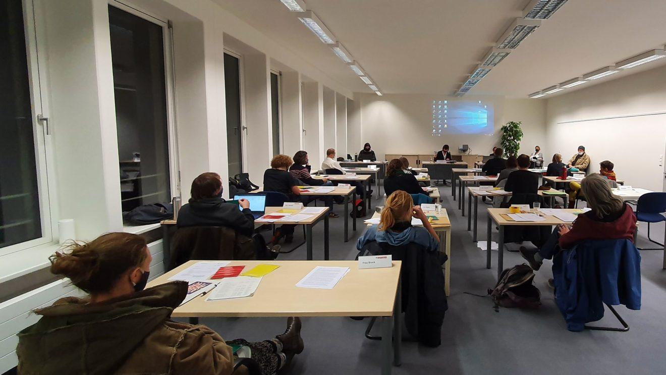 Sitzung des Stadtbezirksbeirats am 30. November 2020