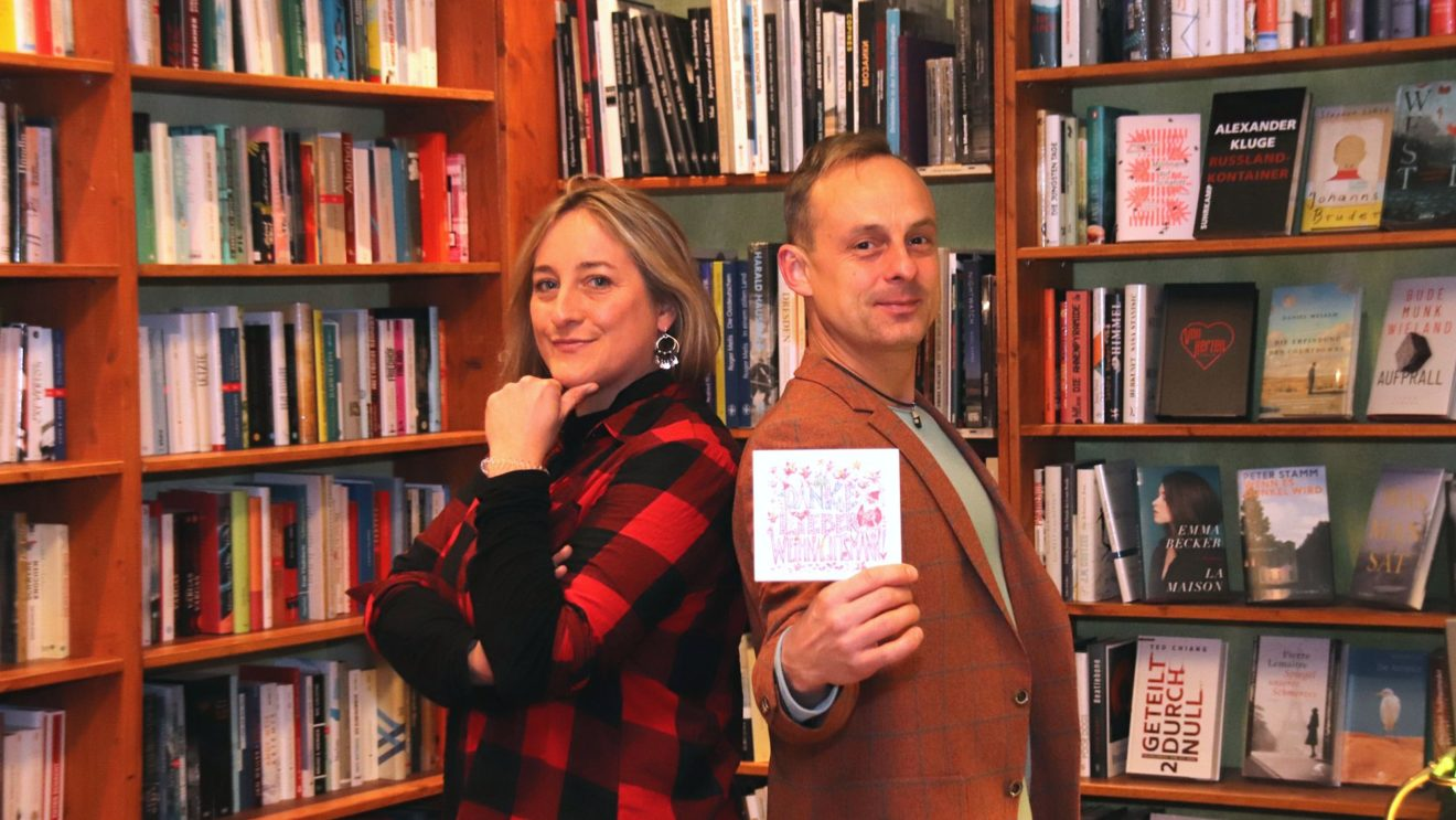 Katja Hofmann und Alexander Teich haben eine Weihnachts-CD aufgenommen.