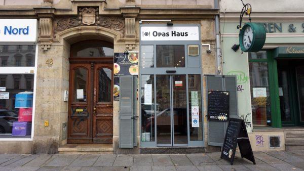 Opas Haus auf der Königsbrücker Straße - Foto: Anne Panzlaff