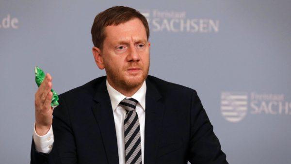 Ministerpräsident Micheal Kretschmer (CDU) - Foto: Tino Plunert