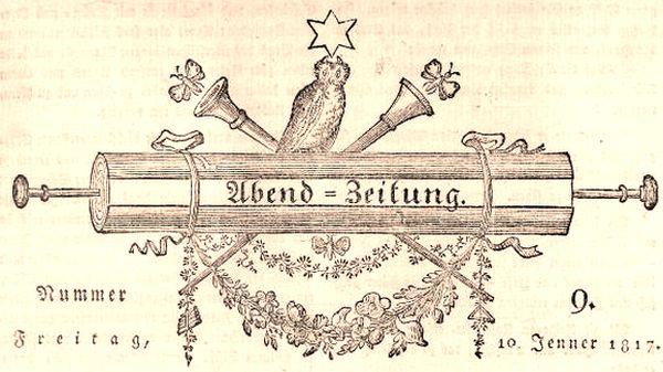 Abendzeitung von 1817