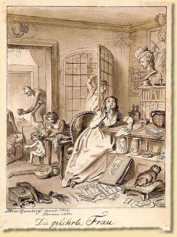 Familie vor 200 Jahren