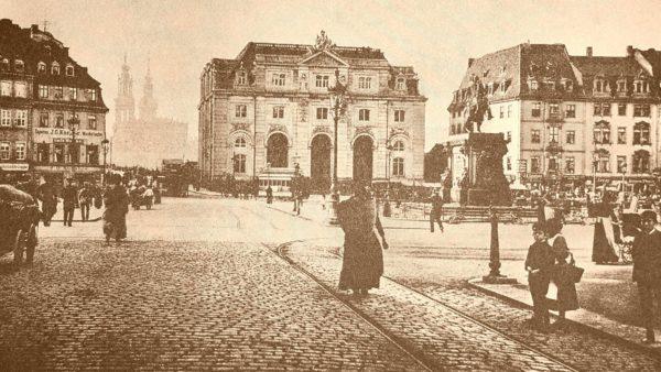 Neustädter Markt um 1900
