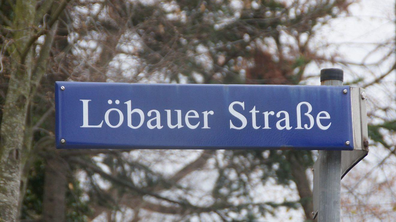 Die Löbauer Straße trägt ihren Namen seit 1892 und ist länger als ihr Ruf. Foto: Philine