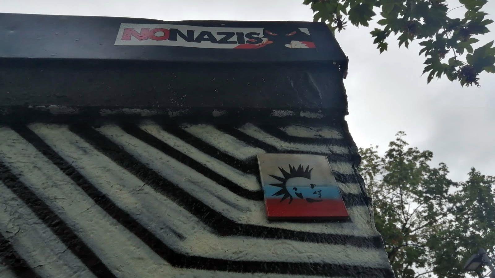 No Nazis - but Punks not dead