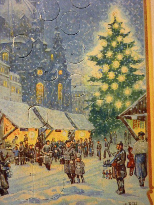 Adventskalender um 1920
