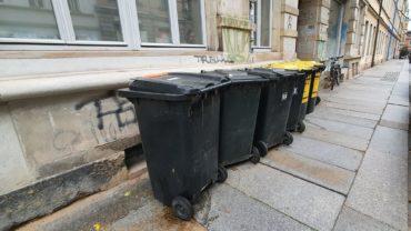 Mülltonnen in der Neustadt