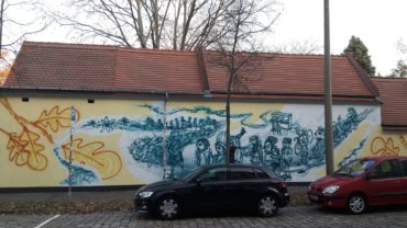 Lebendentanz am Inneren Neustädter Friedhof - Foto: Heike Richter