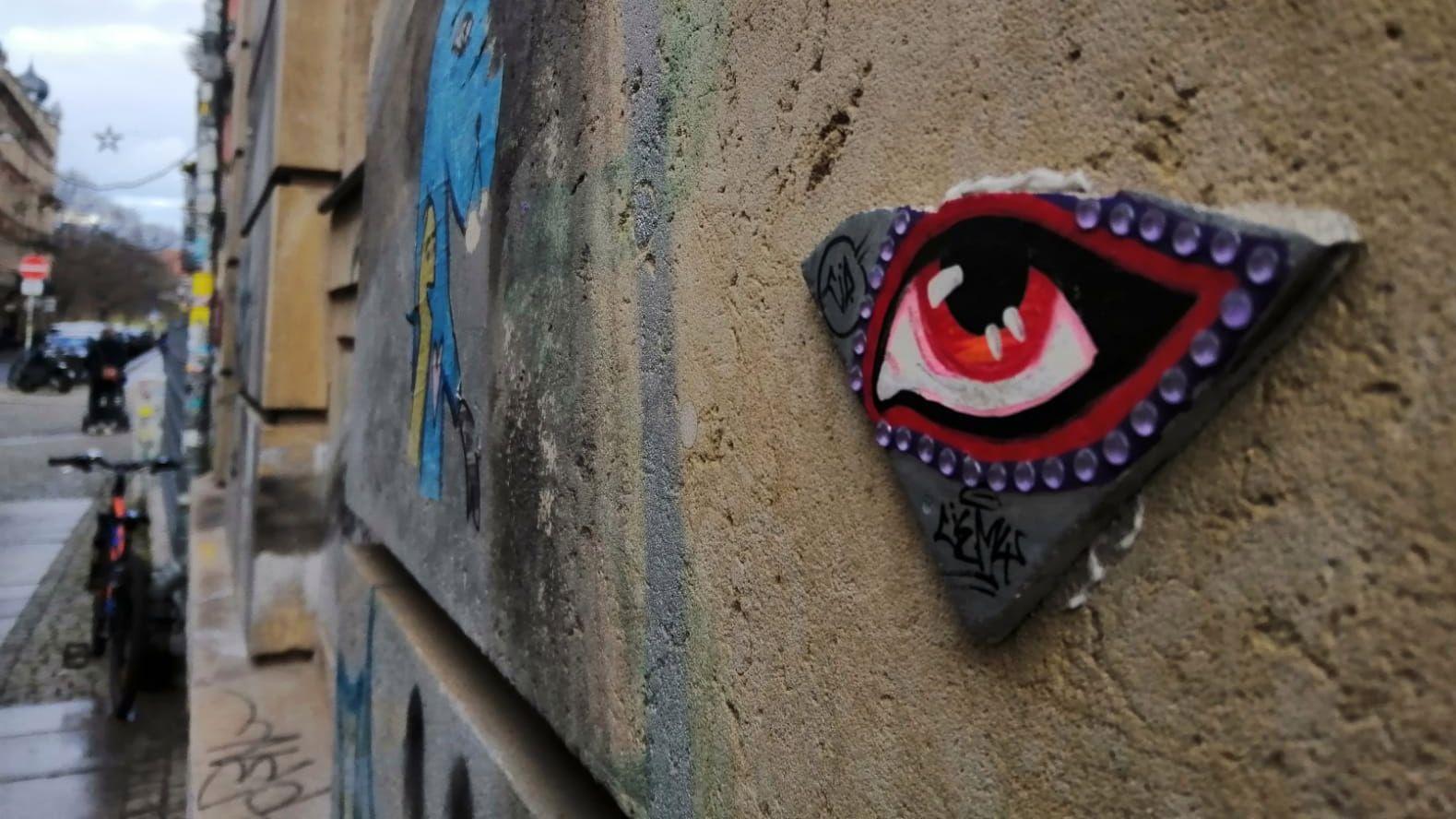 Das Auge der Alaunstraße.
