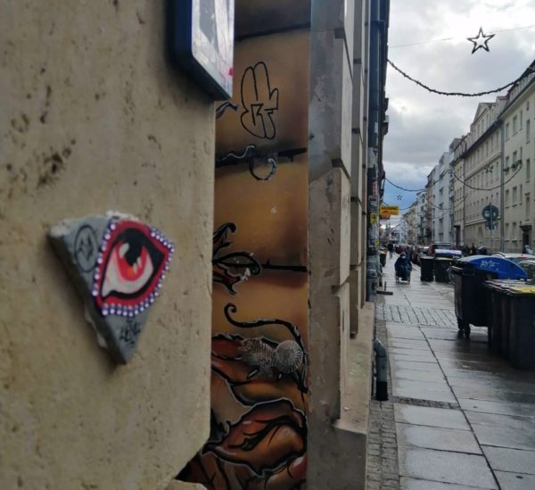 Auge auf der Alaunstraße