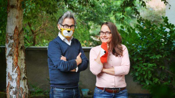 Fotograf Amac-Garbe und Näh-Bloggerin Franziska Lange - Foto: Amac Garbe