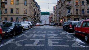 Rudolfstraße im Scheunenhofviertel