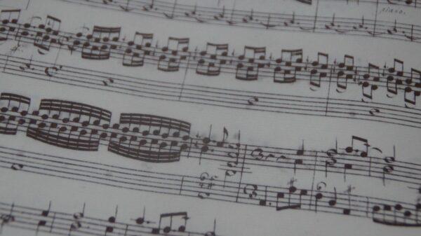 """Die geschwungenen Bögen lassen besser erkennen """"wo die Musik hingeht."""" Foto: Philine"""