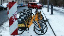 Mobibikes am Alaunplatz. Foto: Alba Kemmer-Alonso