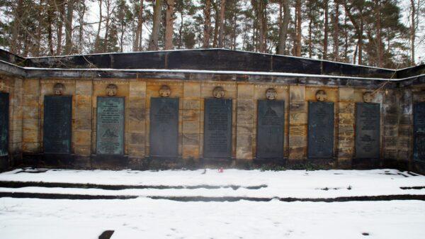 Ehrenhain der im Ersten Weltkrieg Gefallenen der Dresdner Garnison. Foto: Philine