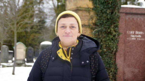 """Susan Donath: """"Die Grabstätte ist für die Hinterbliebenen womöglich wichtiger als für die Verstorbenen."""" Foto: Philine"""