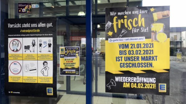 Ab 4. Februar wieder geöffnet: E-Center Heeresbäckerei - Foto: Stephan Trutschler