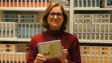 Anja Gena, Schnitzeljägerin. Foto: Philine