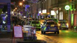 Polizeieinsatz auf der Alaunstraße - Foto: Roland Halkasch