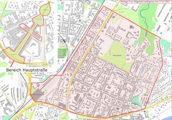 Alkoholverbotszonen in der Neustadt