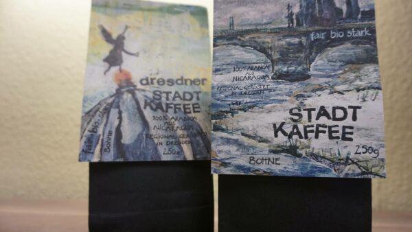 Eins von Claudias Lieblingsprojekten: der Dresdner Stadtkaffee.