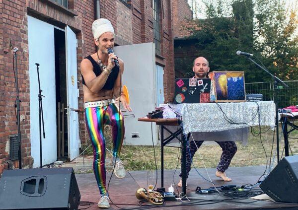 Oxo Oho bei einem Auftritt - Foto: Josephine Enders