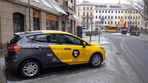 2021-01-29-MOBIcar an der Martin-Luther-Straße