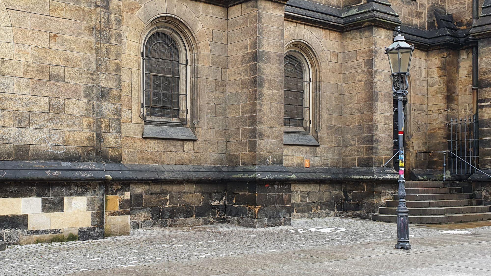 Martin-Luther-Kirche ohne Tauschschrank