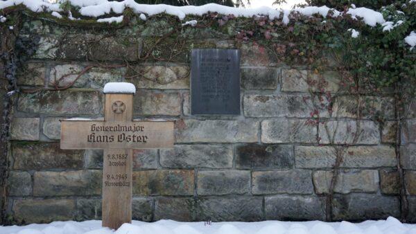 Grabstätte Osters auf dem Nordfriedhof.