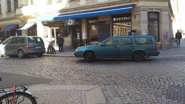 Parksituation auf der Louisenstraße - Foto: Archiv