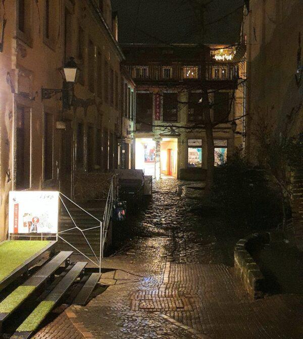 Ein Bummel durch den nächtlichen Kunsthof ist wahrscheinlich ab Sonntag wieder erlaubt. Foto: Archiv