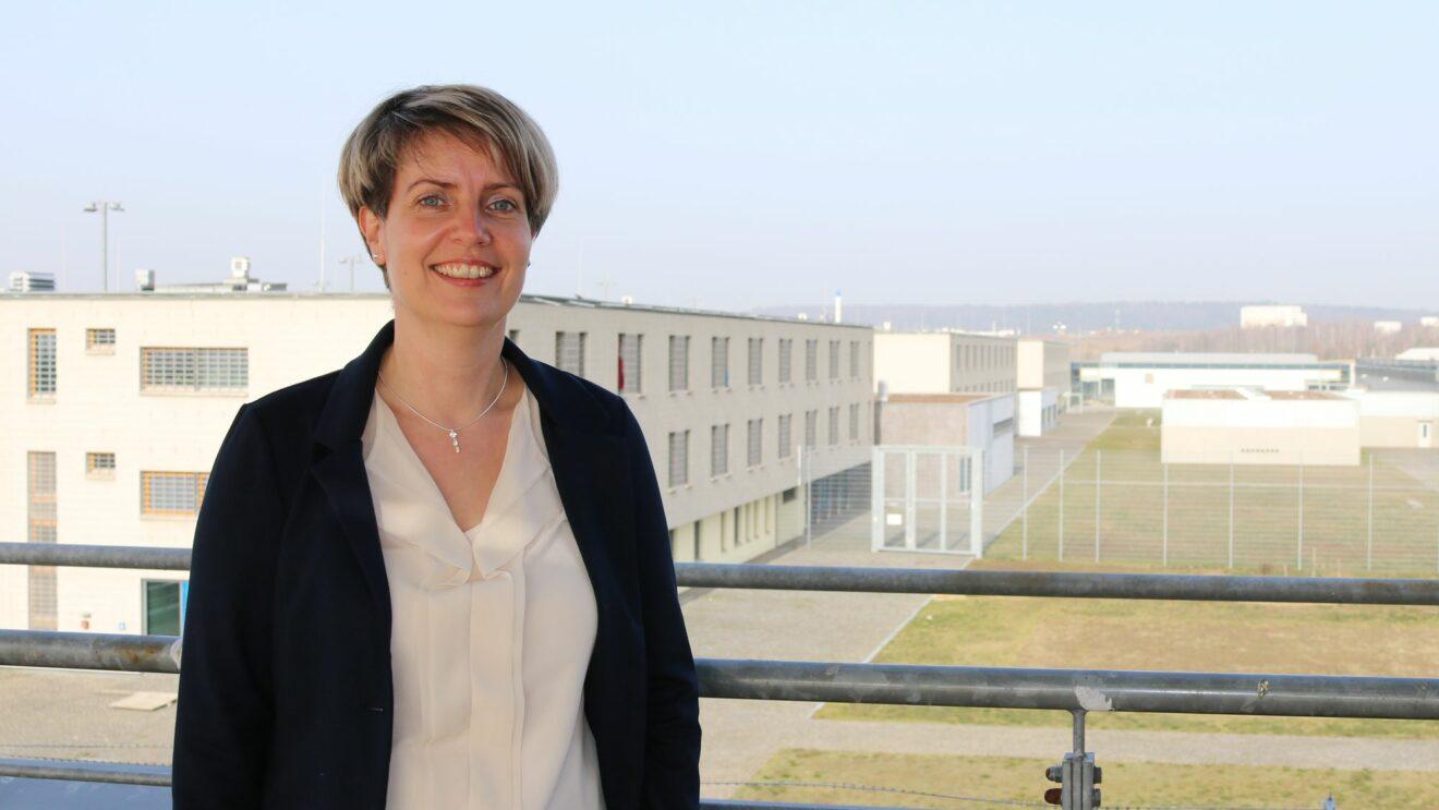 Rebecca Stange, neue Leiterin der JVA Dresden - Foto: Justizministerium