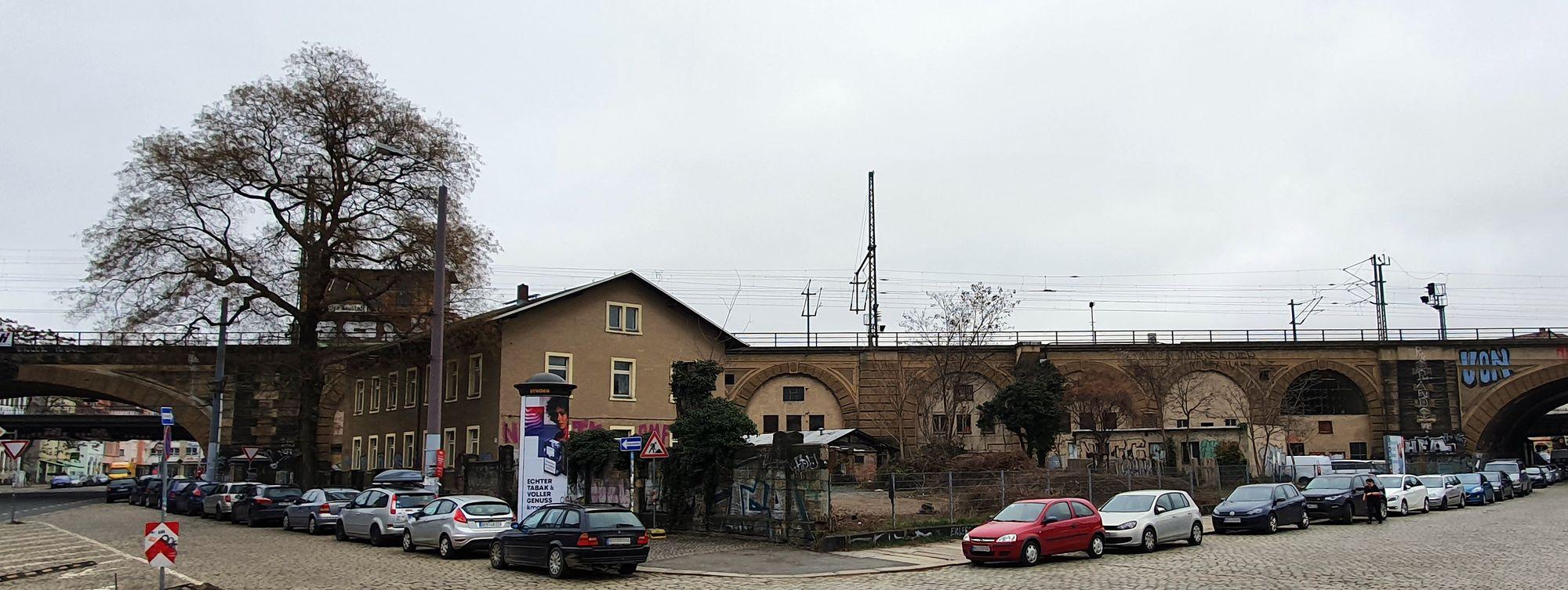 Auf dem alten Bahngelände am Bischofsplatz soll ein Biergarten entstehen.