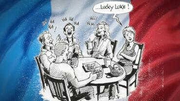 Lücki Lük? - Zeichnung: Jean-Pierre Deruelles